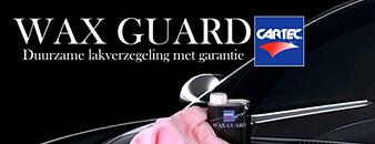geef je auto de diepe glans en bescherming met waxguard